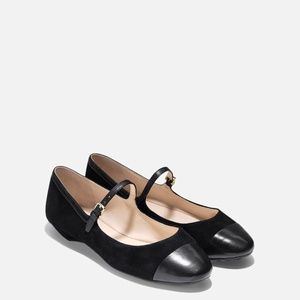 Cole Haan Phoenix Ballet Flat Shoes Mary Jane 8B